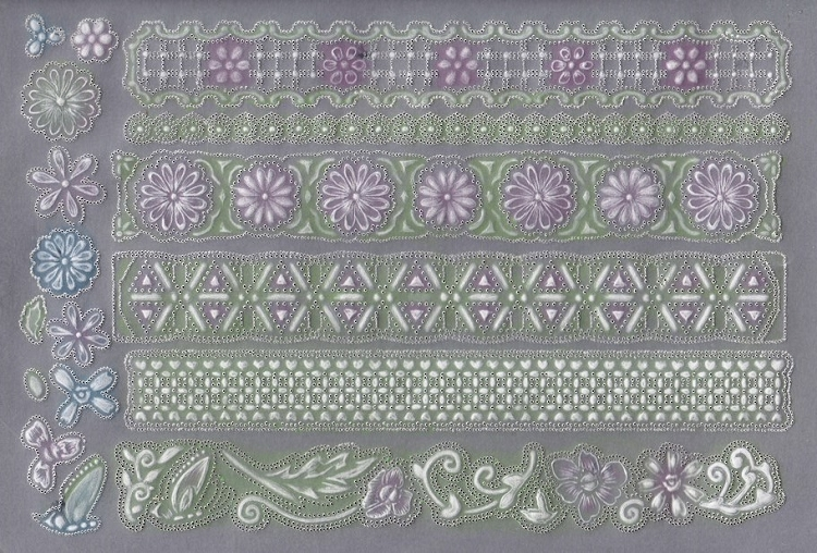 Ecstasy Crafts Ecstasy Crafts Exclusive Templates Large -flowers