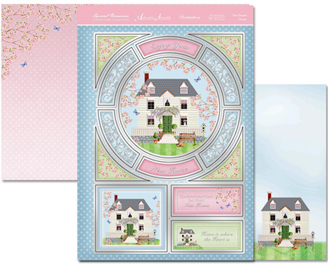 Hunkydory Crafts Special Occasions Individual Topper-the Dream House