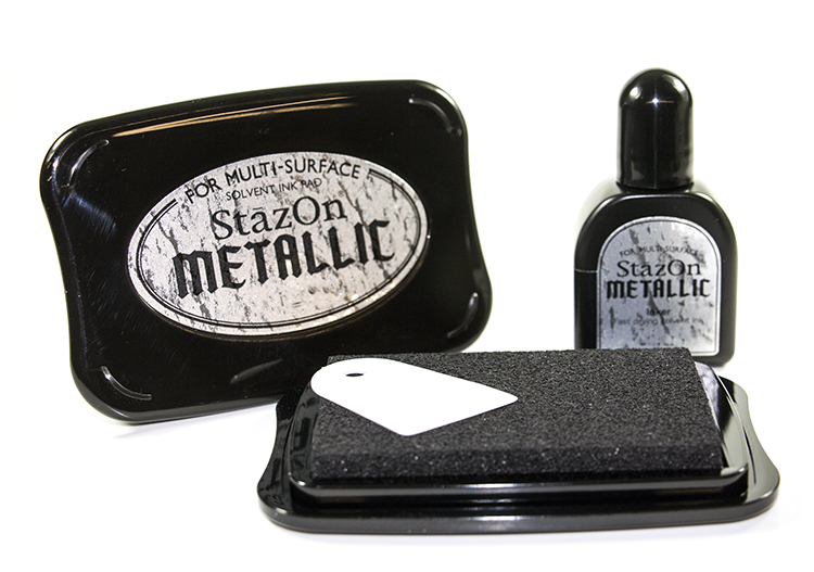 StazOn Ink Pad Metallic
