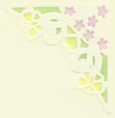 Stencils Franciens Faeries Multistencil - Flower Border
