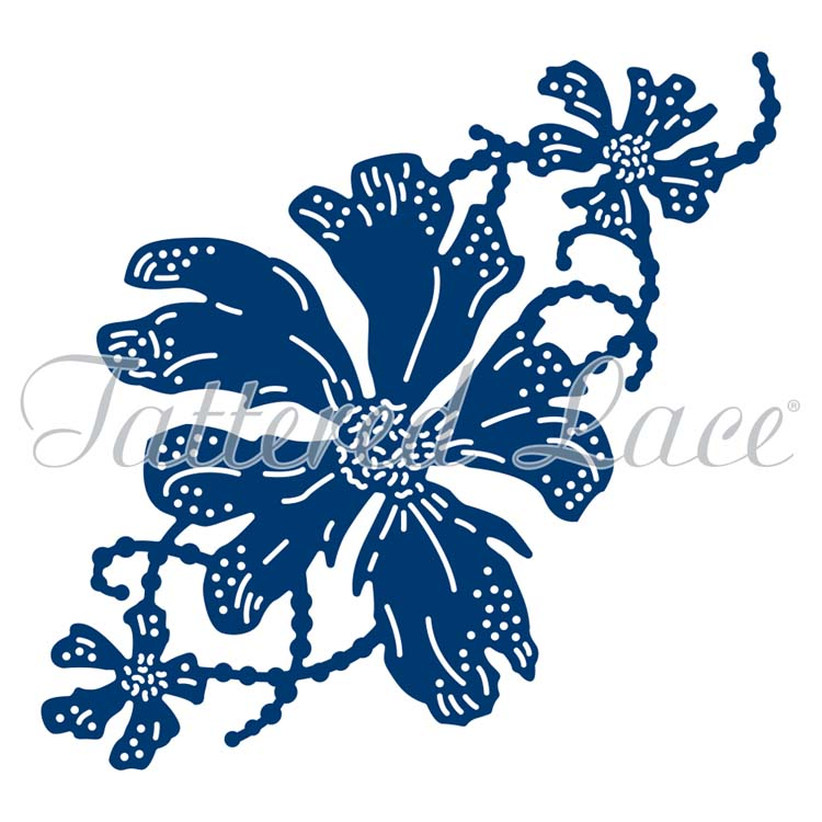 Tattered Lace Dies - Fancy Flora