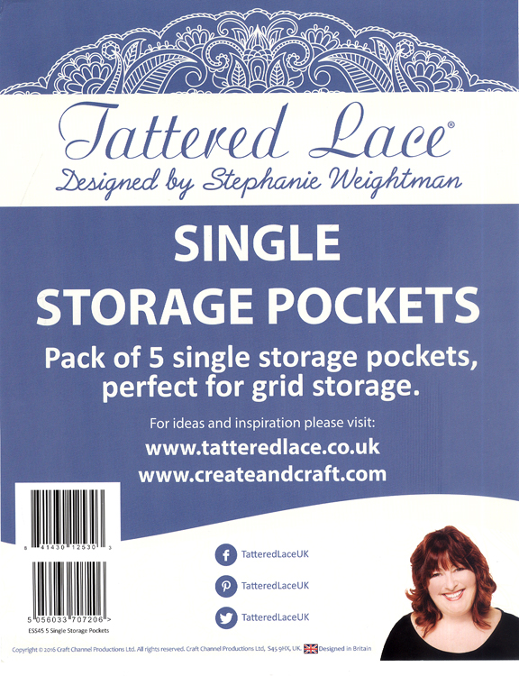 Tattered Lace Parchment Grid Storage Solution Single Inserts