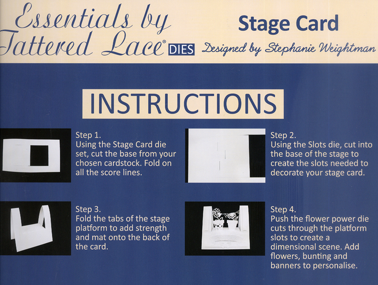 Essentials by Tattered Lace ­ Stage Card