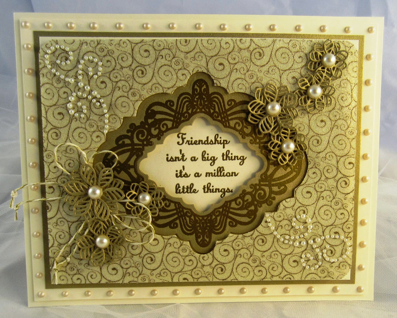 Foam Mounted Cling Stamps - Golden Gate