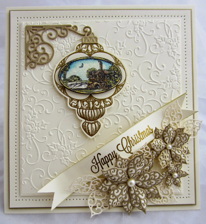 Sue Wilson Stamps - Snowy Brook Bauble