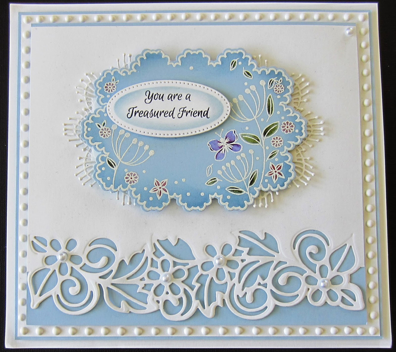 Creative Expressions Ce Foam Stamps - Butterfly Garden