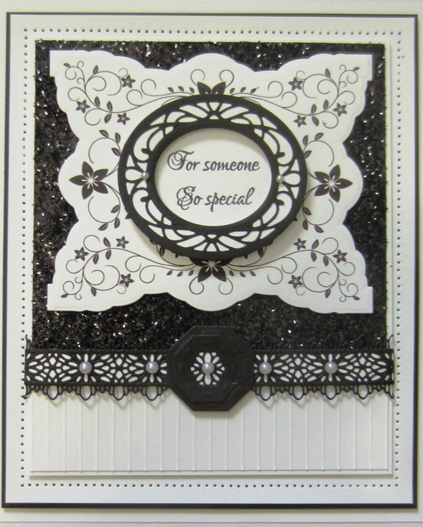 Creative Expressions Stamps - Alexandra's Rosebury Toile