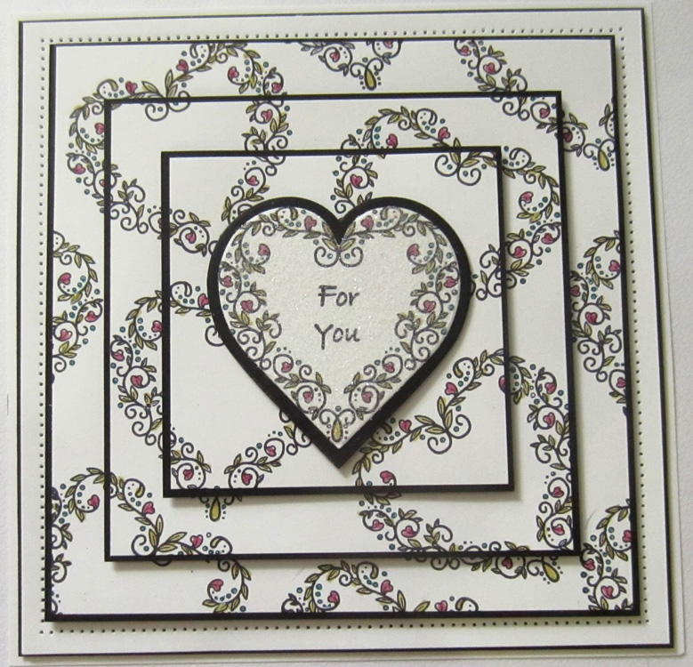 Creative Expressions Stamps - Heart of Blessings