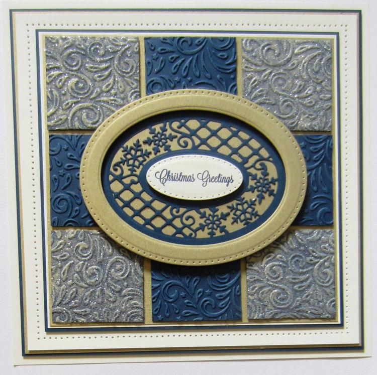 Creative Expressions Sue Wilson Dies - Festive Collection - Lattice Snowflake