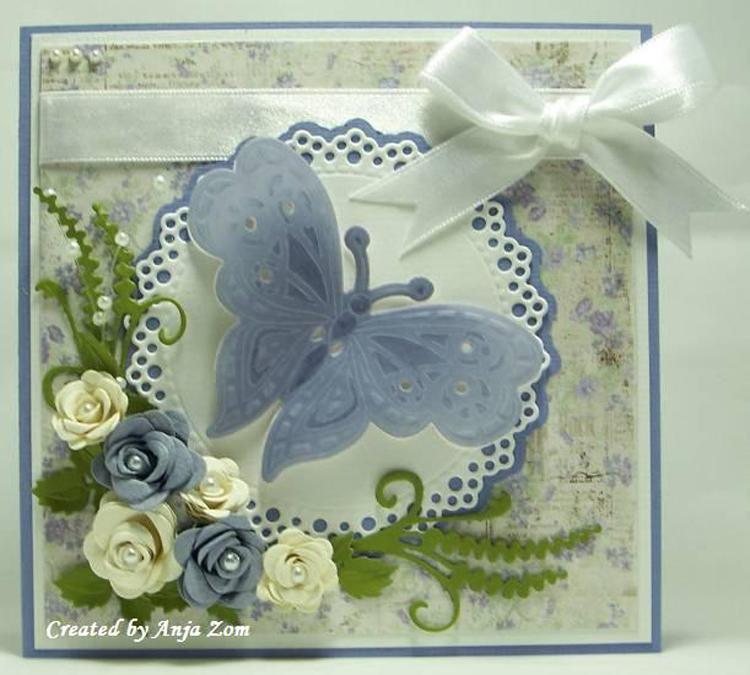 Marianne Design: Collectables Die & Stamp Set - Tiny's Butterfly 2