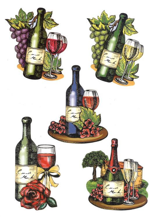 Hearty Crafts Easy 3d - Wine Tasting