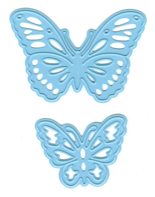 Marianne Creatables Die Cutting Embossing Stencil Tiny/'s Butterflies Set LR0509