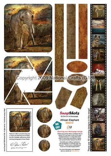 National Crafts G18 G18 Snapshots African Elephant
