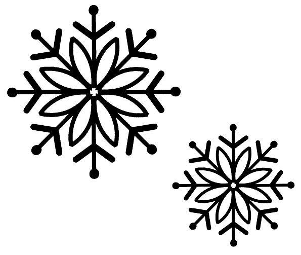 Creative Expressions Sue Wilson Stamps - Bold Snowflake