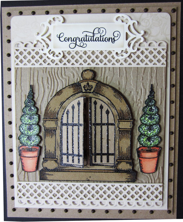 Creative Expressions Embossing Folder - Bark