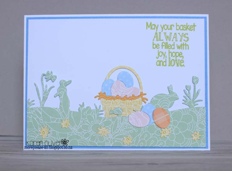 Frantic Stamper Clear Stamp Set - Easter Greetings