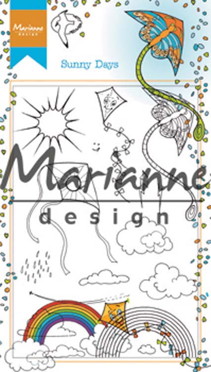 Ecstasy Crafts Marianne Design Stamps Hetty's Sunny Days