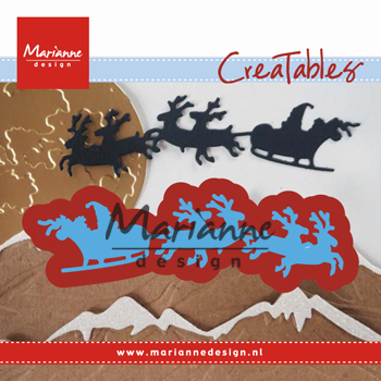 Marianne Design Creatables Santa Is Coming