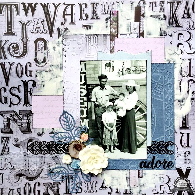 Ecstasy Crafts Embossing Folder 5 X 7 - Magnolia Lane Collection - Timeless Garden