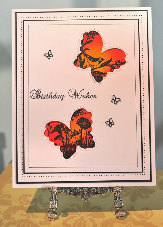 Ecstasy Crafts Finishing Touches Collection Magical Butterflies Die