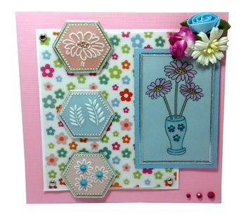 Ecstasy Crafts Multi Grid 37 - Summer Flowers