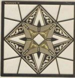 Multi Stencil 1B - Star Design(ef8022)