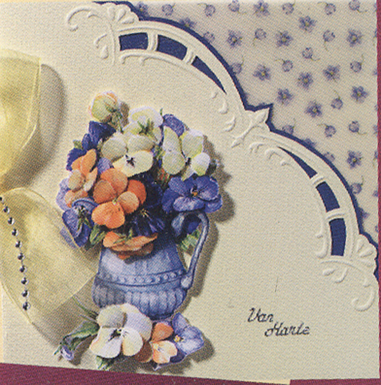 Stencils Marianne Design Embossing Template Border