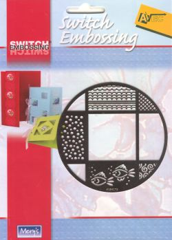 Switch Embossing Stencil - Circle
