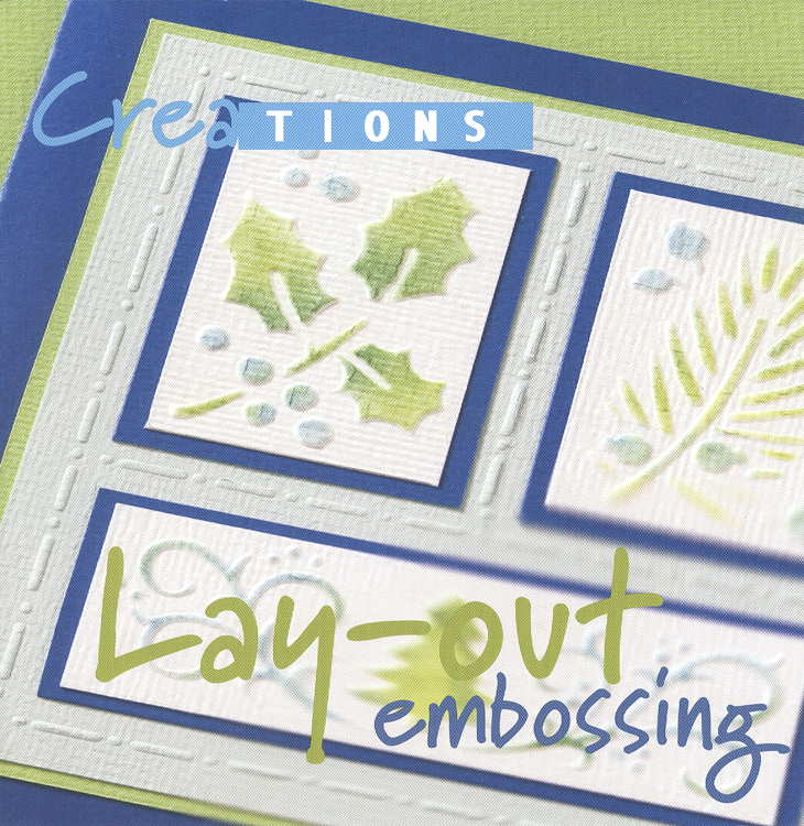 Ecstasy Crafts Creations Lay Out Embossing Book