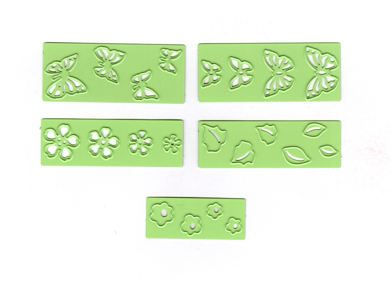 Lea'bilitie® Small Butterlies & Flowers, Cut And Embossing