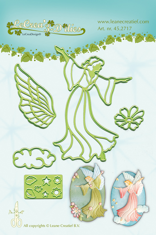 Lea'bilitie® Fairy / Angel- Cut And Embossing Die