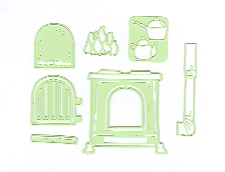 Lea'bilitie® Stove - Cut And Embossing Die