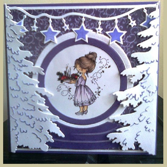 Marianne Design Decoupage Sheets - Snoesjes Cardtopper - Celebrating Christmas