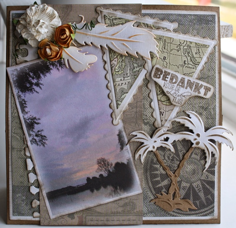 Joy! Crafts Cutting And Embossing Die - Palm Trees