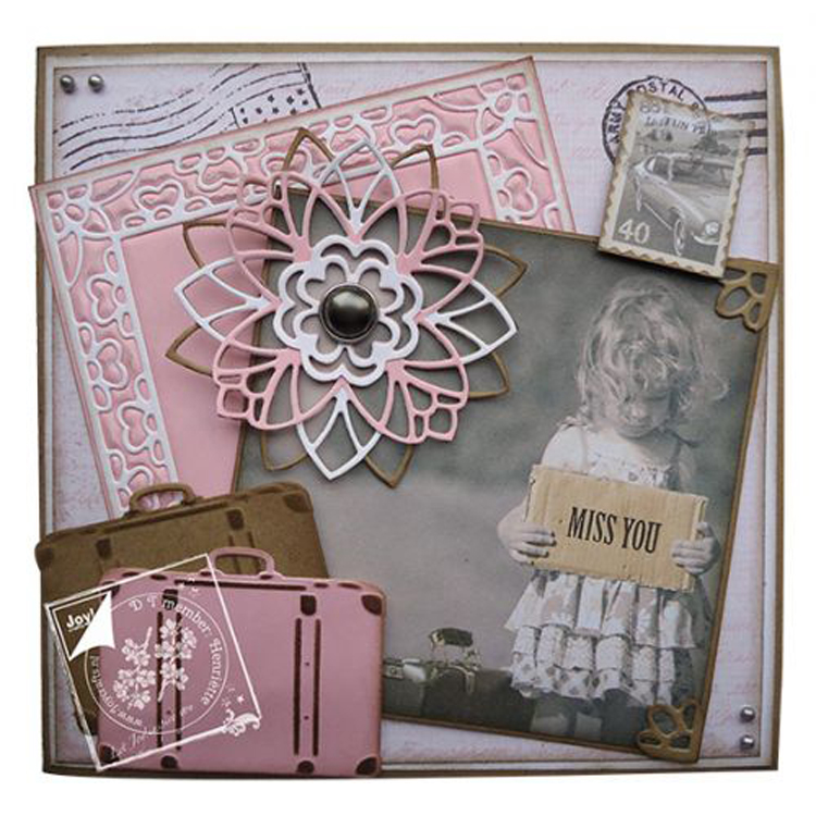 Joy! Crafts Dies - Travel, Suitcase