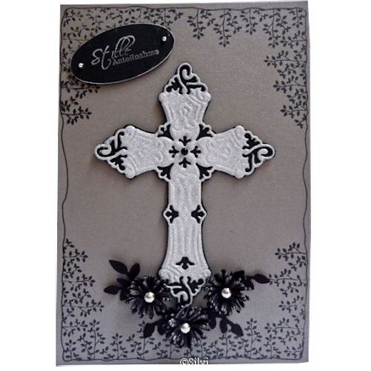 Cutting And Embossing Die - Cross