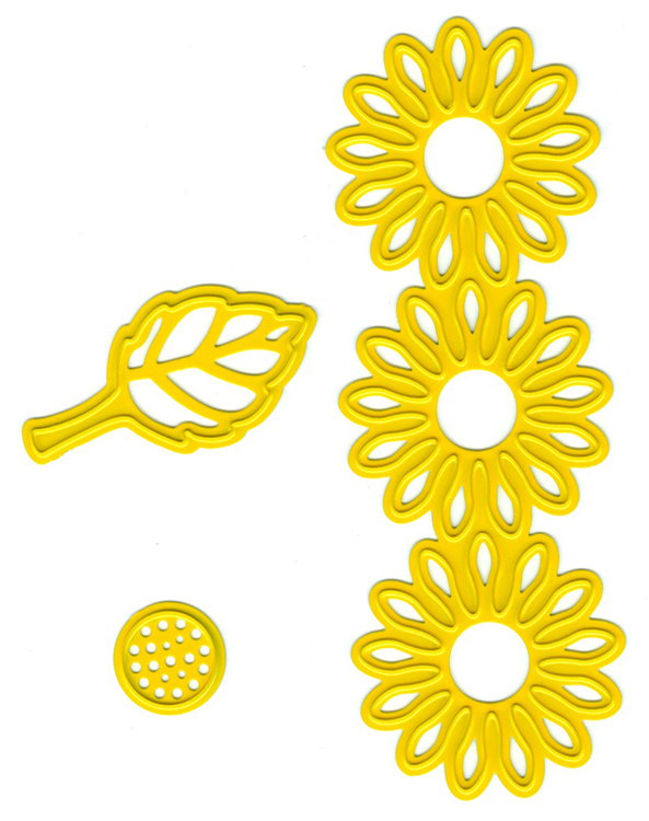 Ecstasy Crafts Joy! Crafts Cutting And Embossing Dies - Sunflower