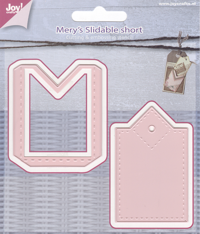 Joy! Crafts - Mery's Slidable Short Die