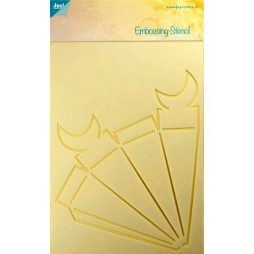 Joy Crafts Template - Triangle Box