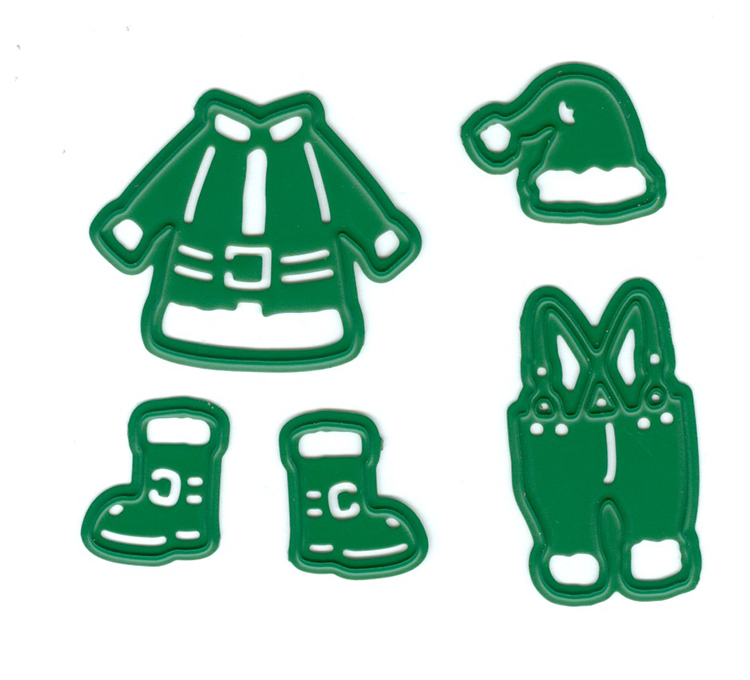 Joy Crafts Cutting & Embossing Die -  Santa Clothing (5)