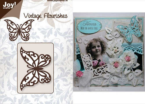 Vintage Flourishes - Butterfly