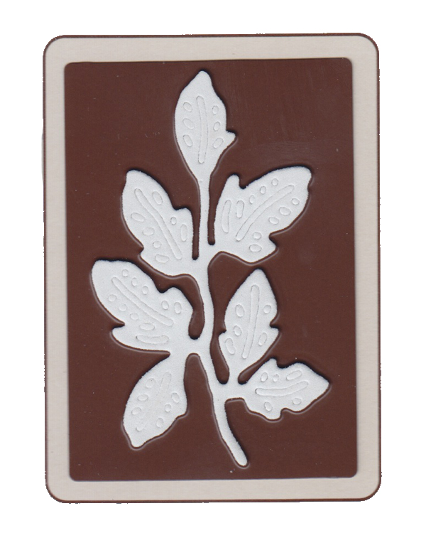 Joy! Crafts Dies Vintage Flourishes - Leaf 1