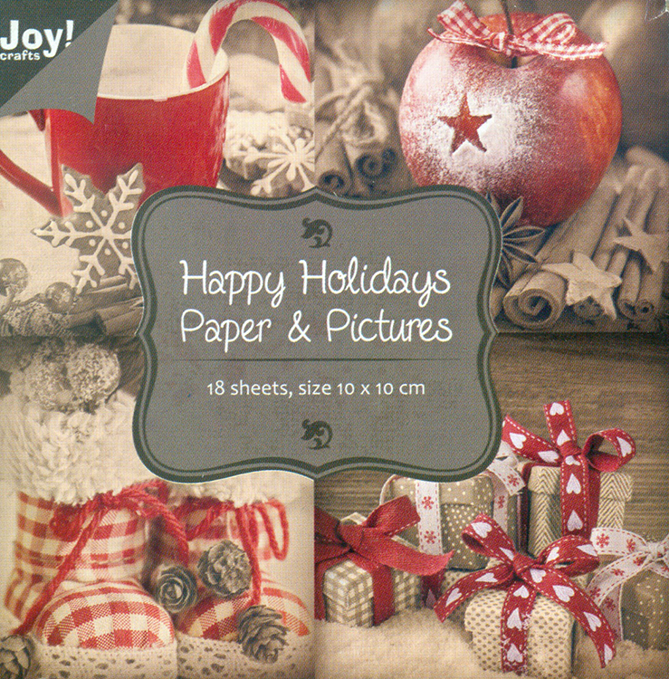 Paper Bloc - Happy Holidays Paper & Pictures
