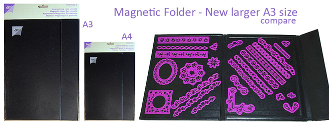 Ecstasy Crafts Magnetic Storage Folder - Large