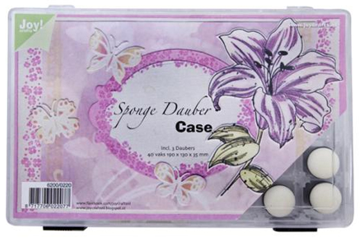 Ecstasy Crafts Sponge Dauber Case