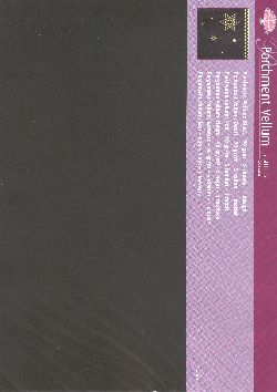 Pergamano Vellum Black (5 Sheets)