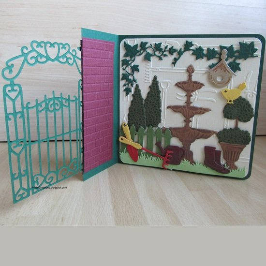 Ecstasy Crafts Marianne Design: Craftables Dies - Topiary Set