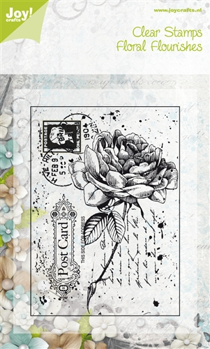 Clear Stamps - (85 X 120 Mm)rose