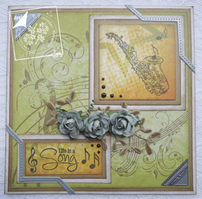 Ecstasy Crafts Joy! Crafts Clear Stamps - Dance To The Music