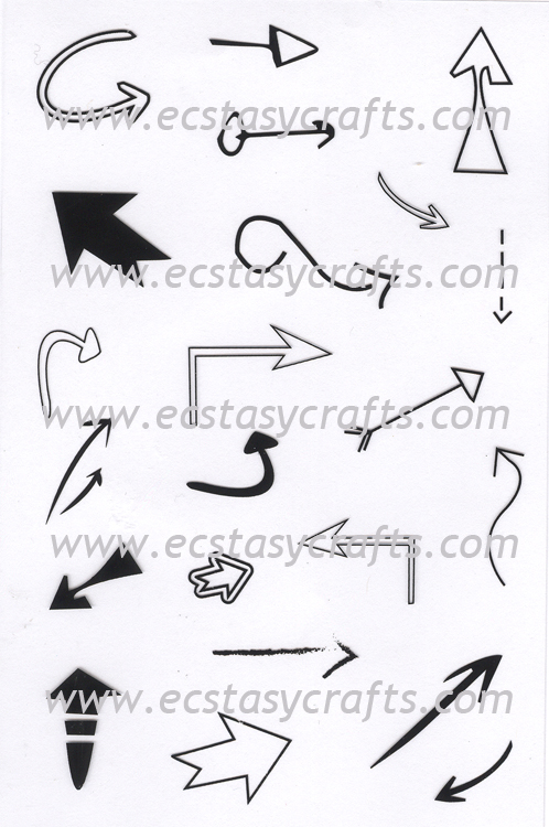 Clear Stamp - Arrows